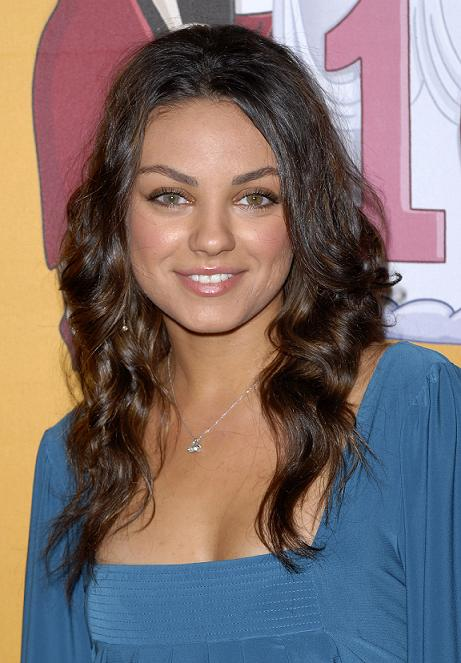 vanessa hudgens mila kunis. Mila Kunis at Family Guy 100th