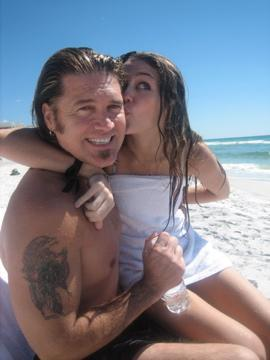 Miley and Billy Ray Cyrus 2