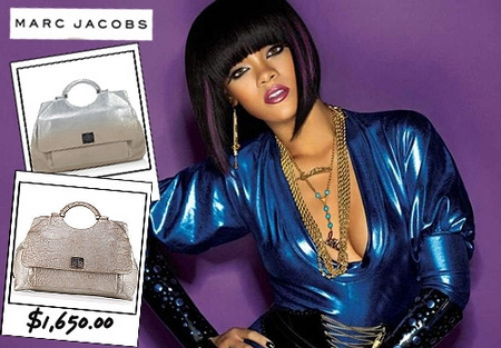 Rihanna Marc Jacobs handbag