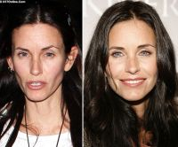Courteney Cox anorexic weight loss