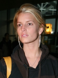 Jessica Simpson no makeup