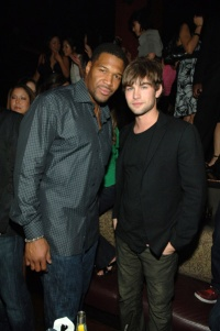 Chace Crawford Michael Strahan