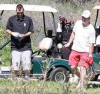 Jamie Spears Kevin Federline Golf