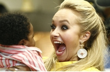 Hayden Panettiere world children's day