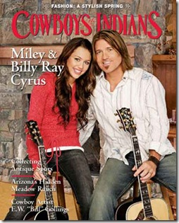 miley cyrus cowboys and indians cover