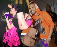 rihanna chris brown bracelets