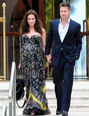 angelina and brad cannes france-5