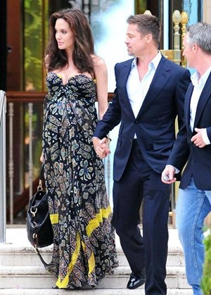 angelina and brad cannes france