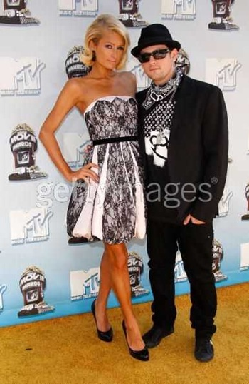 Paris Hilton and Benji Madden MTV Movie Awards