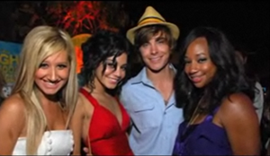 ashley tisdale  and high school musical friends
