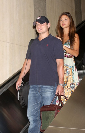 Nick and Vanessa at LAX