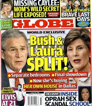 Globe Cover August 2008