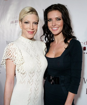 Tori Spelling and Audrina Patridge