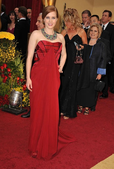 Actress Amy Adams arrives at the 81st Annual Academy Awards held