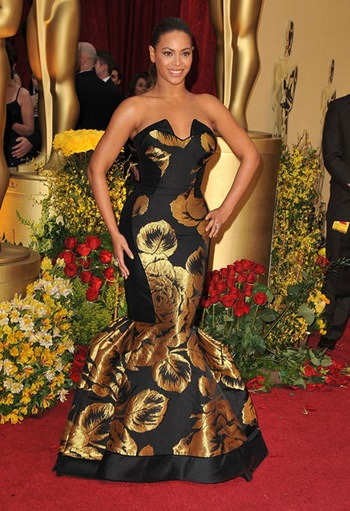 Singer Beyonce arrives at the 81st Annual Academy Awards held at