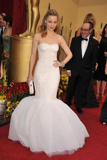 Actress Melissa George arrives at the 81st Annual Academy Awards