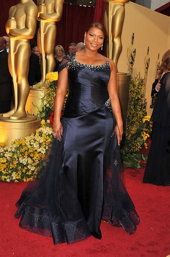 Actress Queen Latifah arrives at the 81st Annual Academy Awards